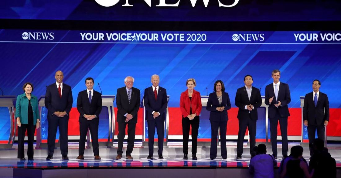 Democratic Debate (Getty Images)